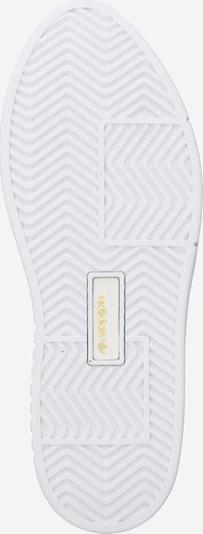 Sneaker low 'Sleek Super' ADIDAS ORIGINALS pe alb: Privire de sus