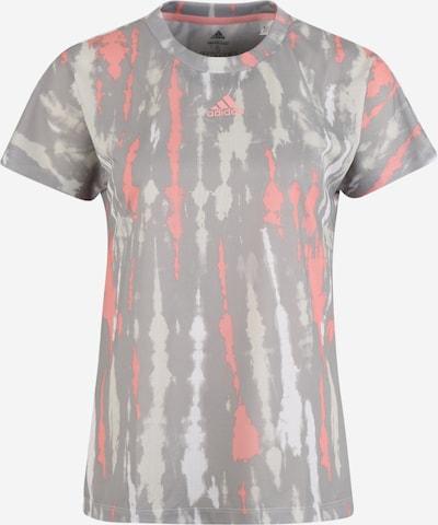ADIDAS PERFORMANCE T-Shirt 'AI Q1' in grau / rosa / weiß, Produktansicht