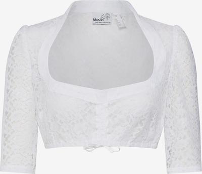 MARJO Dirndlbluse 'Becca-Emma' in weiß, Produktansicht