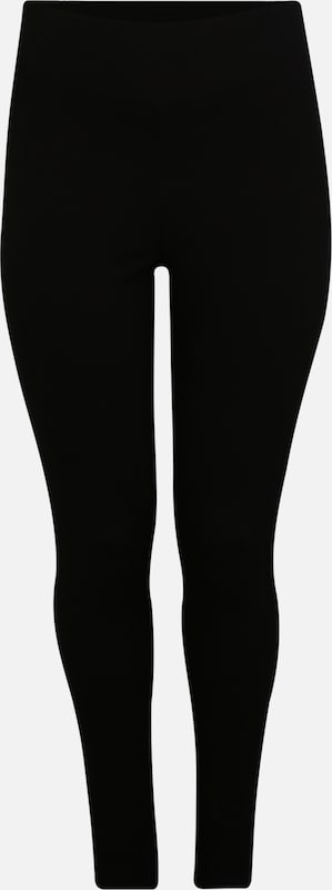 ABOUT YOU Curvy Leggings 'Marin' in black denim: Frontalansicht