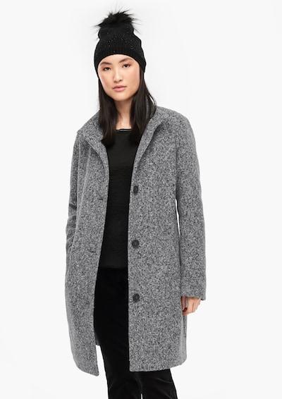 Rudeninis-žieminis paltas iš s.Oliver , spalva - margai pilka: Vaizdas iš priekio