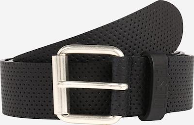 DIESEL Gürtel in schwarz / silber, Produktansicht