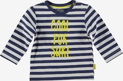 BESS Shirt in dunkelblau / neongelb / offwhite, Produktansicht