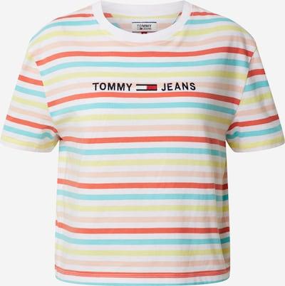 Tommy Jeans Shirt in neongelb / orange, Produktansicht