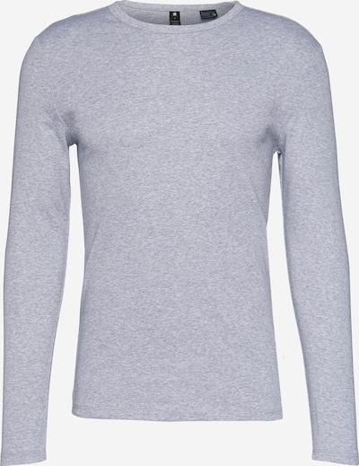 Marškinėliai 'Base R T L/S' iš G-Star RAW , spalva - margai pilka, Prekių apžvalga