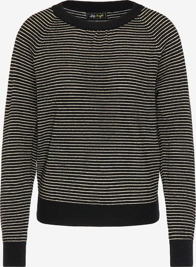 MYMO Pullover in gold / schwarz, Produktansicht