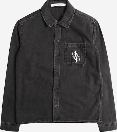 Calvin Klein Jeans Hemd 'LS SHIRT BOYS GREY B' in grey denim, Produktansicht