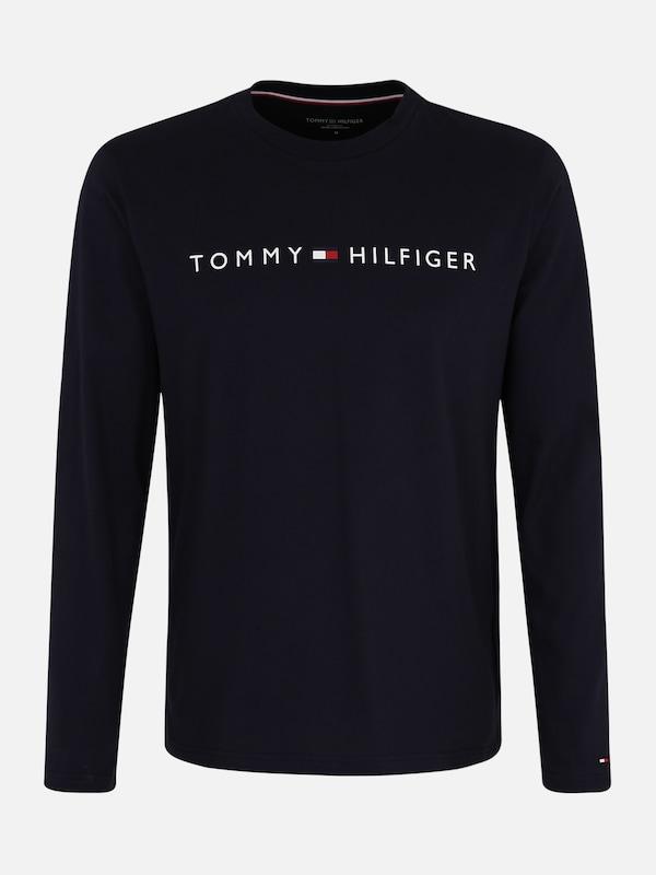 a673bc2790 Tommy Hilfiger Underwear Hosszú pizsama 'CN LS TEE LOGO' tengerészkék  színben | ABOUT YOU