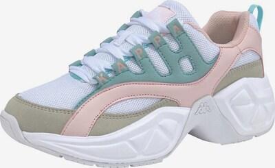 KAPPA Sneaker 'OVERTON' in mischfarben / weiß, Produktansicht