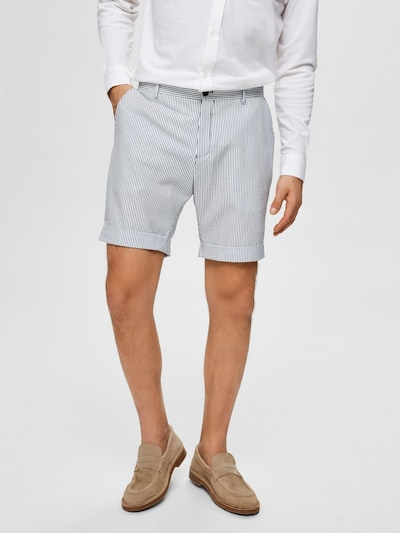 SELECTED HOMME Shorts in weiß, Modelansicht