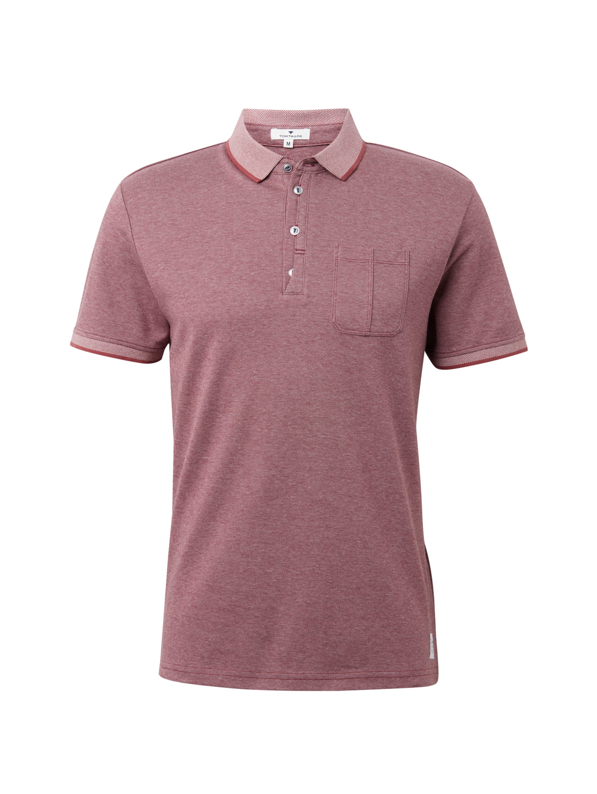 Tailor Poloshirts Pastellrot Tom In Mehrfarbiges Poloshirt doeBrxCW