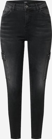 ONLY Jeans cargo en noir, Vue avec produit