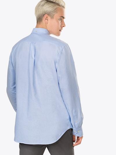 GANT Hemd 'The Oxford Shirt BD' in hellblau: Rückansicht
