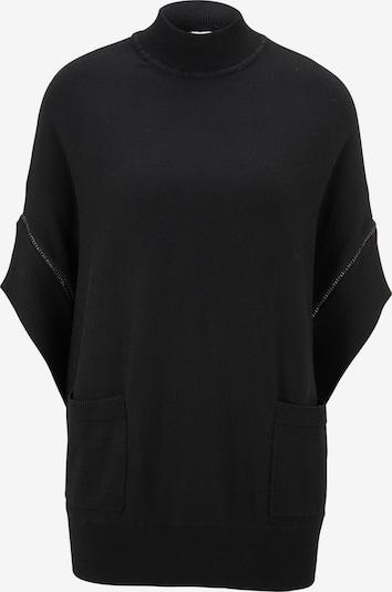 heine Pullover 'Timeless' in schwarz, Produktansicht