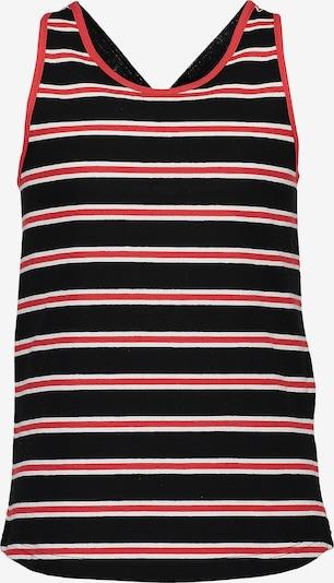 BLUE SEVEN Top in rot / schwarz / weiß, Produktansicht