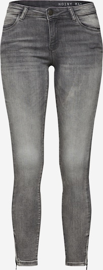 Noisy may Jeans in de kleur Grey denim, Productweergave