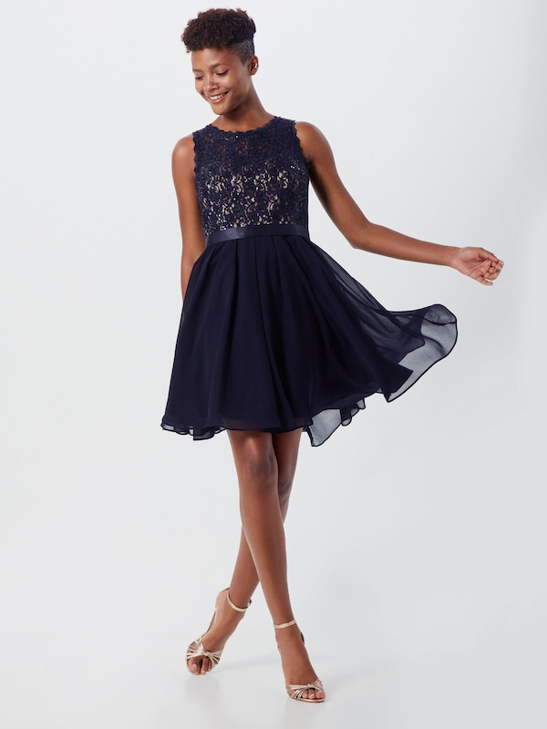 VM Vera Mont Kleid in dunkelblau / rosé | ABOUT YOU