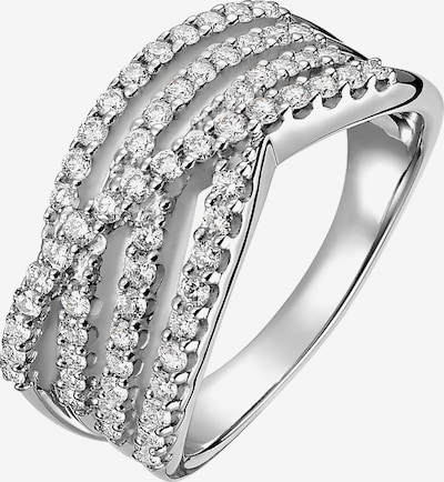 CHRIST Ring '87327604' in silber: Frontalansicht
