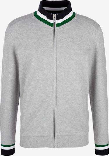 s.Oliver Jacke in graumeliert / grün / schwarz / weiß, Produktansicht
