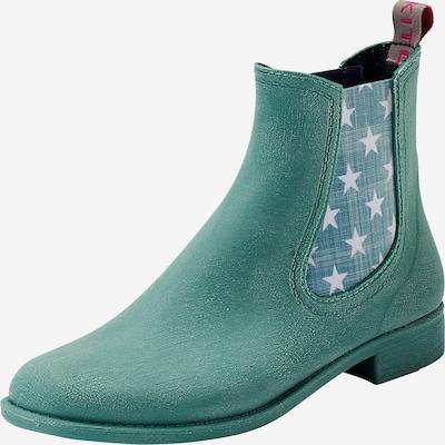 Crickit Chelsea boots 'MIA' in de kleur Groen: Vooraanzicht