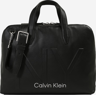 Nešiojamojo kompiuterio krepšys 'NY SHAPED LAPTOP BAG' iš Calvin Klein , spalva - juoda, Prekių apžvalga