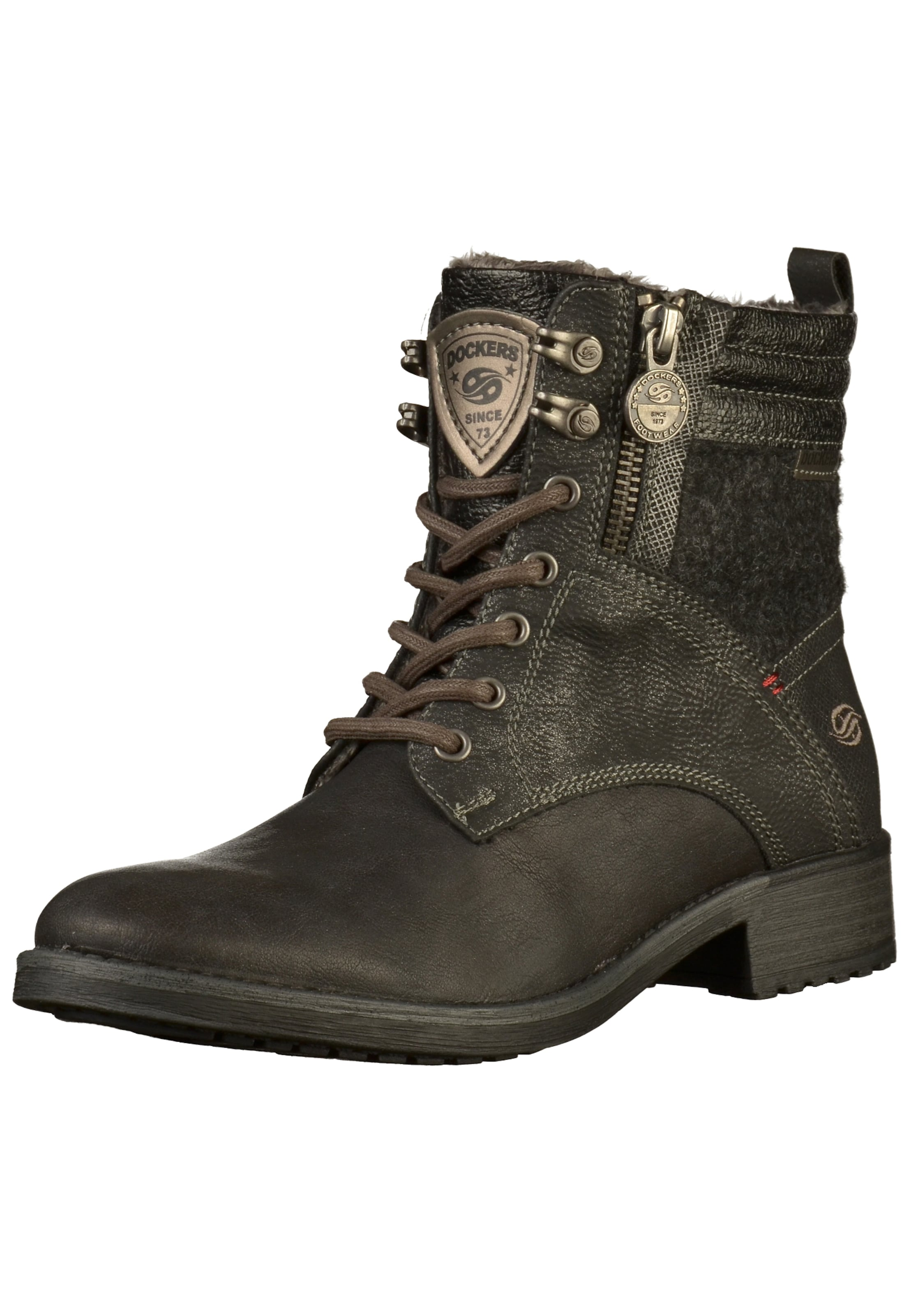 Anthracite En Lacets Dockers Bottines By Gerli À pqBnwfAY