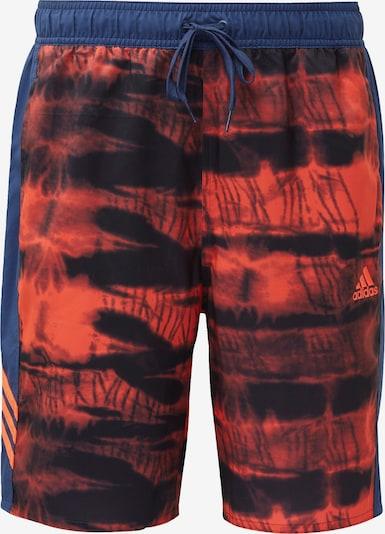 ADIDAS PERFORMANCE Boardshorts in de kleur Blauw / Rood, Productweergave