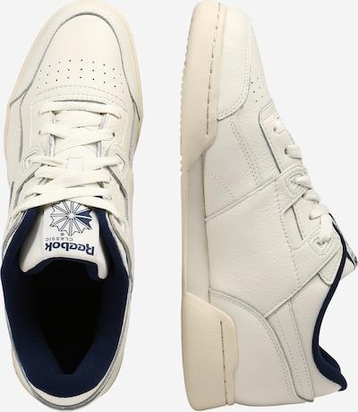 Sneaker low 'Workout Plus' Reebok Classic pe albastru închis / offwhite: Privire laterală
