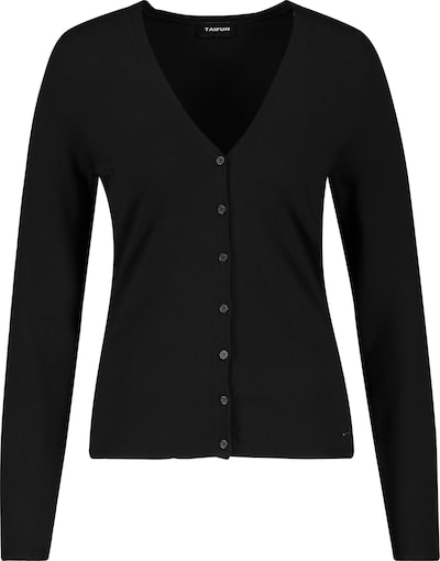TAIFUN Gebreid vest in de kleur Zwart, Productweergave