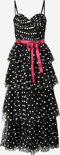 elefántcsont / piros / fekete Forever Unique Estélyi ruhák 'MILLIE MAXI', Termék nézet