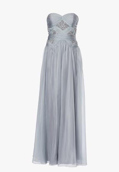 Young Couture by BARBARA SCHWARZER Kleid in silber, Produktansicht
