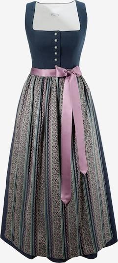 HANNAH Kleid in navy / rosa, Produktansicht