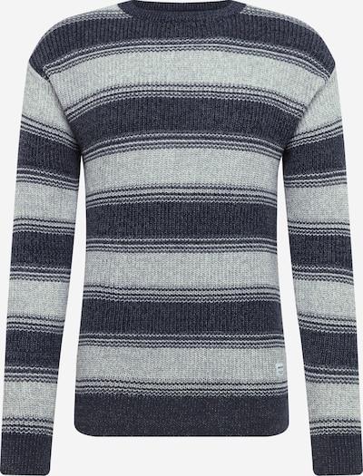 JACK & JONES Trui in de kleur Donkerblauw / Offwhite, Productweergave