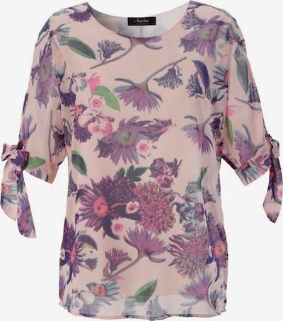 Aniston CASUAL Bluse in mischfarben / rosé, Produktansicht