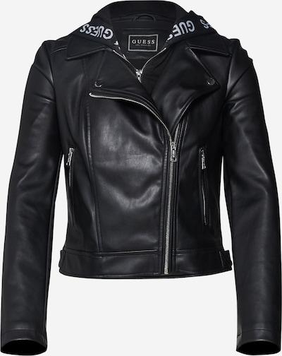 GUESS Kunstlederjacke in schwarz, Produktansicht