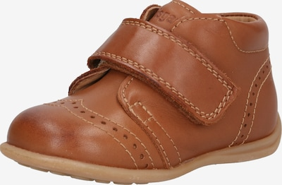 BISGAARD Chaussure basse 'Prewalker' en cognac, Vue avec produit