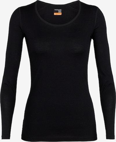 Icebreaker Shirt '200 Oasis LS Scoop' in schwarz, Produktansicht