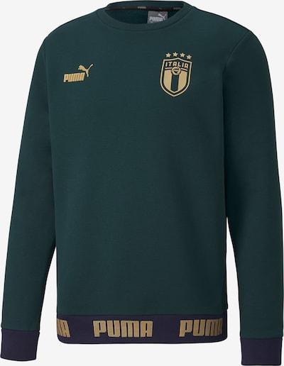 PUMA Sweatshirt in navy / gold / smaragd, Produktansicht