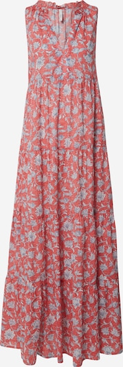 Pepe Jeans Kleid 'Carola' in hellblau / pastellrot, Produktansicht