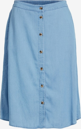 VILA Jupe en bleu denim, Vue avec produit