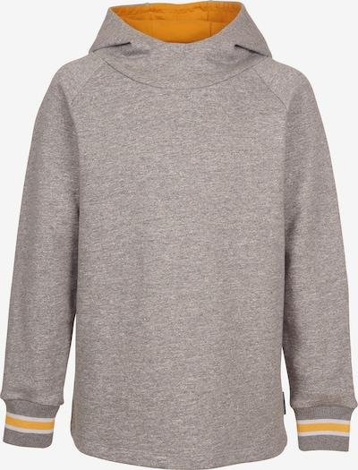 ELKLINE Sweatshirt 'Treehugger' in graumeliert / dunkelorange / weiß, Produktansicht