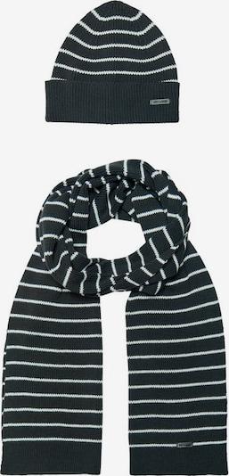Only & Sons Sjaal in de kleur Enziaan / Natuurwit, Productweergave