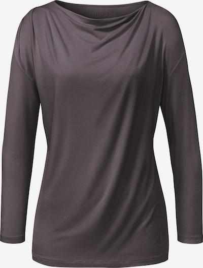 CURARE Yogawear Shirt in aubergine, Produktansicht