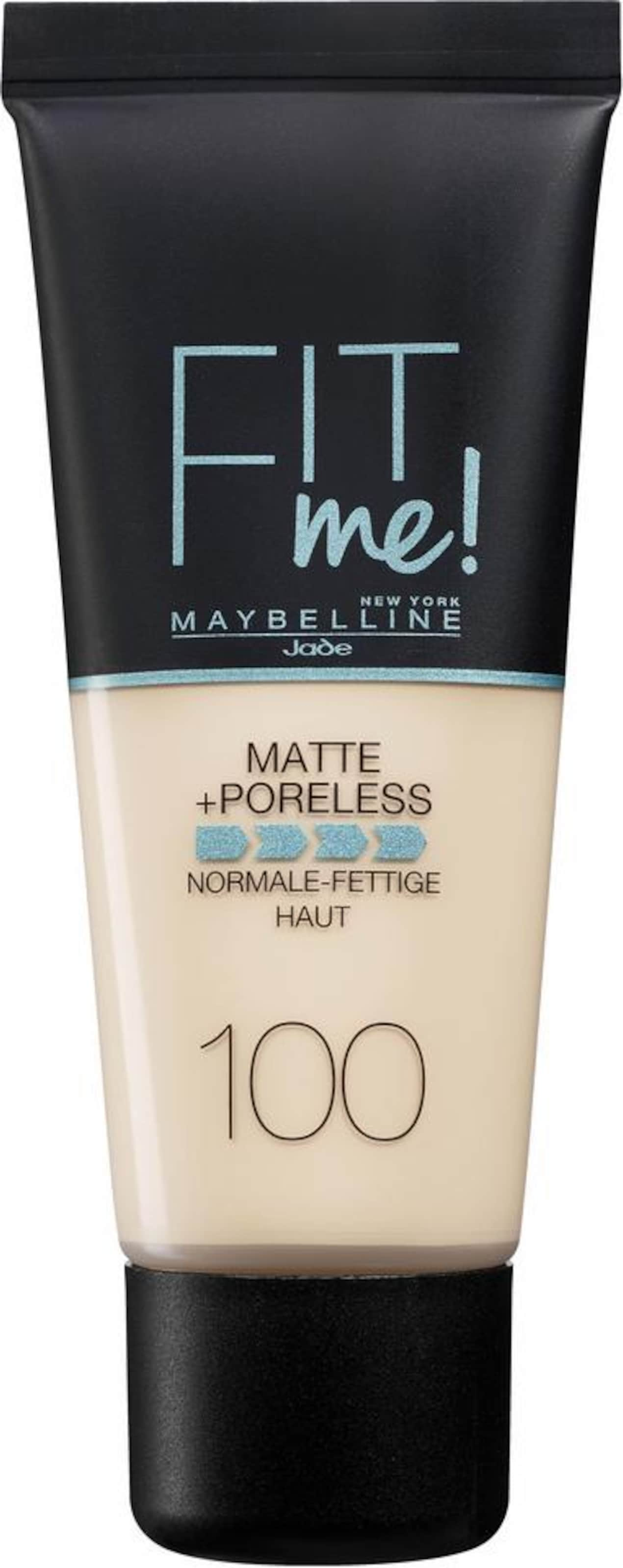 MAYBELLINE New York 'Fit me! Matte+Poreless', Make-up