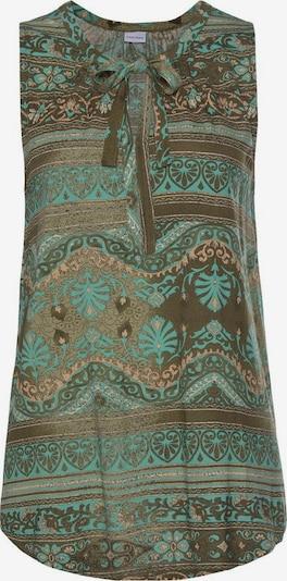 LASCANA Top w kolorze turkusowy / jodła / koralowym, Podgląd produktu