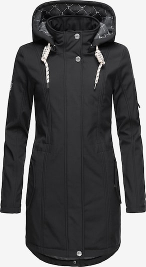 Peak Time Softshelljacke 'L62097' in schwarz, Produktansicht
