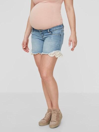 Jeans MAMALICIOUS pe denim albastru, Vizualizare model