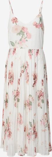 VERO MODA Robe d'été 'Lovely' en vert pastel / rose / rosé / blanc, Vue avec produit