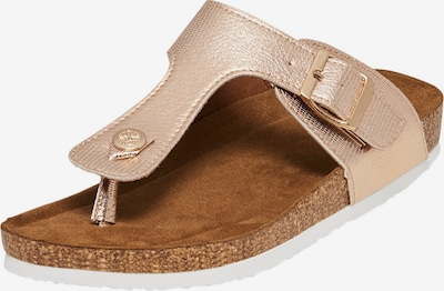 ONLY Teenslipper 'Mathilda' in de kleur Rose-goud, Productweergave