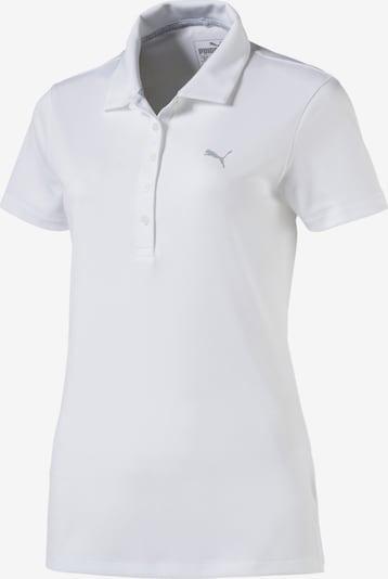 PUMA Polo in weiß, Produktansicht